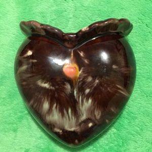 Vintage,Heart shape wall hanging vase